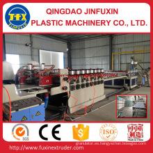 Placa de la espuma de la corteza de la construcción del PVC que hace la máquina