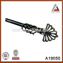 high quality hot sell plastic curtain finials