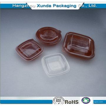 Récipient en plastique pour la restauration rapide