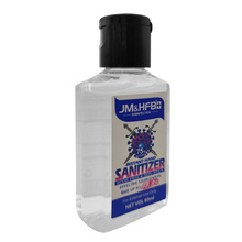 Stock 60Ml Hand Sanitizer Gel Alcohol 75%