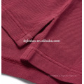 Fendas laterais Personalizado polo camisa spandex atacado venda quente para homens