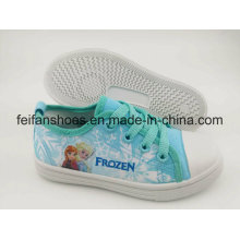 Cartoon Design Children Canvas Injection Shoes, Newest Casual Shoes with Competitive Price