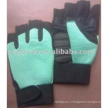 Половина Finger Перчатки-Синтетическая Кожаный Перчатка Работы Перчатки-Защитные Перчатки-Защитные Перчатки