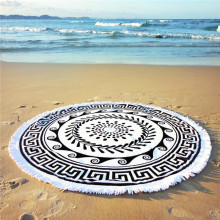 Uk Online Reactive Printed Round Beach Towel