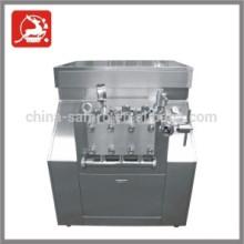 High efficiency milk Homogenizer,2000l/h flow 25Mpa pressure