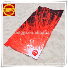 High quality colorful microfiber suede fabric hot printed yoga towel High quality colorful microfiber suede fabric hot printed yoga towel