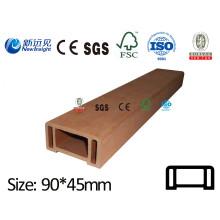 WPC Handrail WPC Railing WPC Fecne with SGS CE ISO Fsc Wood Plastic Composite Railing Handrail Lhma060