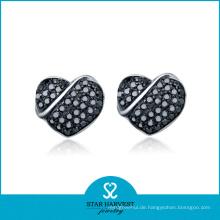 2014 neueste Entwurfs-Herz-Entwurfs-Ohrringe