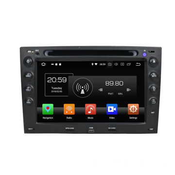 Android Multimedia bilstereo pour Megane 2003-2009