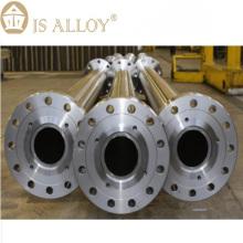 Bimetal single screw and barrel for upvc pipes
