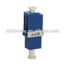 Fábrica de fornecimento único modo 5dB 7dB 10dB 15dB 30dB LC / UPC atenuador de fibra óptica