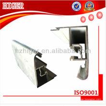 perfil de ventana de extrusión de aluminio personalizado