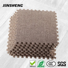 anti-slip promotional soft plush eva foam interlocking floor mat, non-toxic eva floor mats for kids