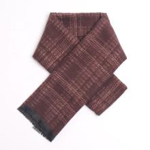 Wholesale High Quality Gentleman Scarf Business Men Winter Cashmere Plaid Wrap Scarves