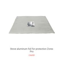 Papier anti-huile de papier d'aluminium de cuisinière à gaz à hautes températures