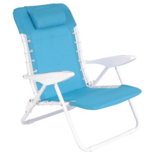 Silla de playa plegable con almohada (SP-152)