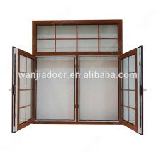 Styles de couleurs personnalisées fenêtre de grille de ventilation en pvc
