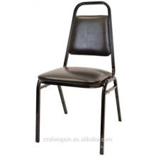 Chaise empilable à usage professionnel avec coussin épais