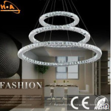 Circle Crystal Beautiful Hotel Lighting with RoHS