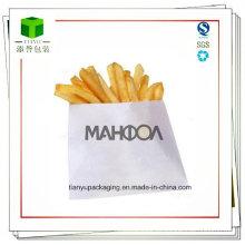Bolsas de papel para papas fritas