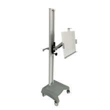Medical mobile chest x ray stand bucky stand xray chest stand for Install flat panel detector