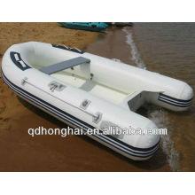 fibra de vidro piso pvc material barco 520 costela barco