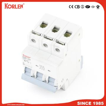 Miniature Circuit Breaker 4.5KA 63A 4P με CE