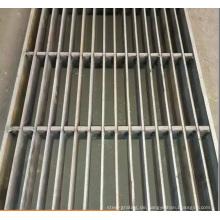 Schachtabdeckung für Stahlstangengitter