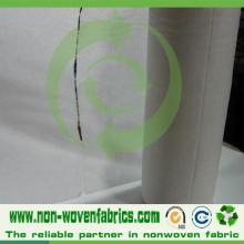 Tela perfurada não tecida perfurada dos PP Spunbond para o tecido