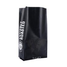 Custom Printed Laminated Foil Side Seal Coffee Powder Packaging Bag Side Gusset Packaging Bag
