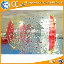PVC de alta qualidade água quente rolo de cabelo água caminhando rolos água preço bola de rolo