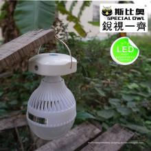 5W e 12W lâmpada LED portátil ao ar livre, mercado noturno LED de alta qualidade