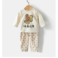 Terno orgânico do corpo do bebê do projeto bonito com certificação de Gots