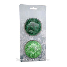 cleaning kitchen mesh scourer&Plastic cleaning scrubber&mesh scourer&cleaning ball