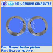 706-7K-91111 ORIGINAL OEM KOMATSU PC300-7 brake piston