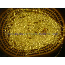 Светодиодный тросовый светильник (2 провода, теплый белый)