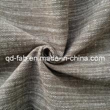 100% fio de algodão tingido tecido (QF13-0767)