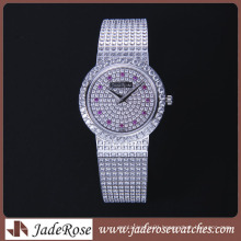 2016 Hot Sell Exquisite Diamond Watch Waterproof Stainless Steel Watch