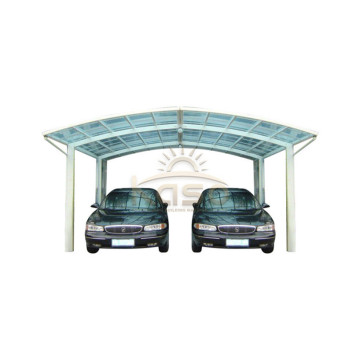 Modern Shed Cantilevered Carport Car Canopy Snow