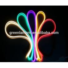 110/220 volt duplo lado LED Flex Neon Light Strip IP67 para iluminação de Natal, Indoor / Outdoor corda iluminação
