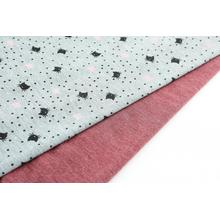POLY KNIT PRINTED LIGHT WEIGHT FABRIC
