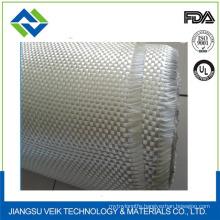 White waterproof and fireproof fiberglass cloth