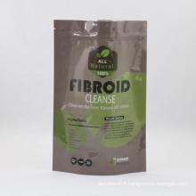 Zipper Bag Aluminum Foil Lining Inside Plastic Sachet