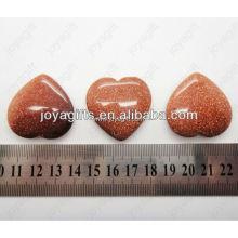 Regalo del día de San Valentín por mayor-natural Corazón de la piedra preciosa afortunado