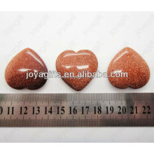 valentine's day gift wholesale-natural Lucky gemstone heart