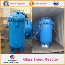 Tipo vertical Resistencia a la corrosión Recipiente de revestimiento de vidrio Recipiente