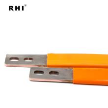 Barramento isolado laminado flexível do cobre conector flexível de cobre laminado