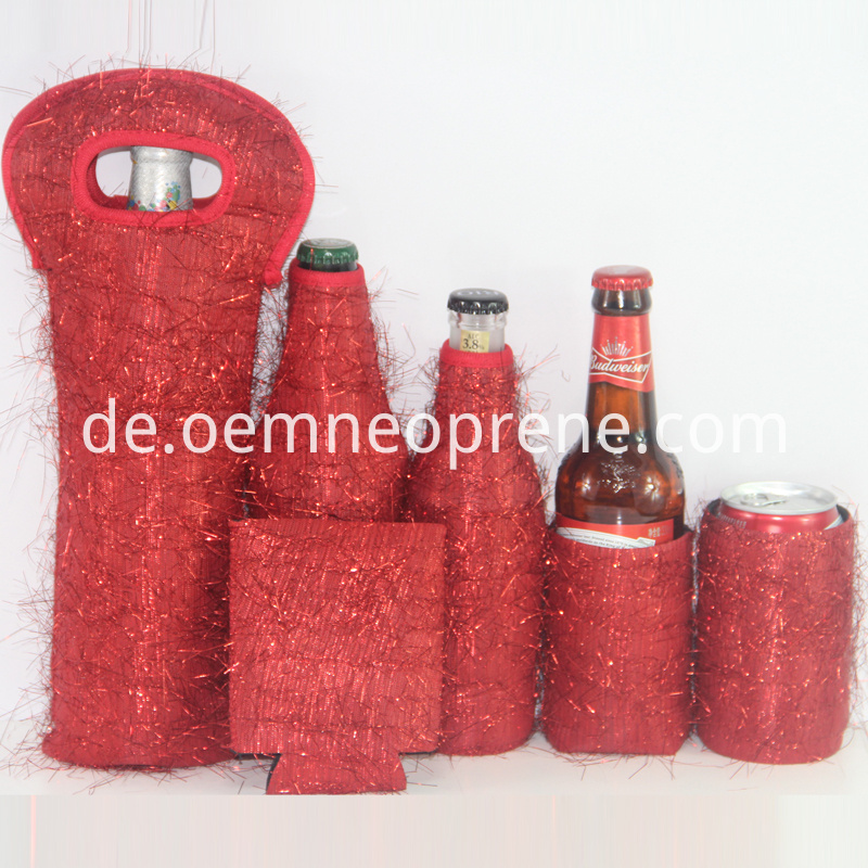 Beer bottle cover set