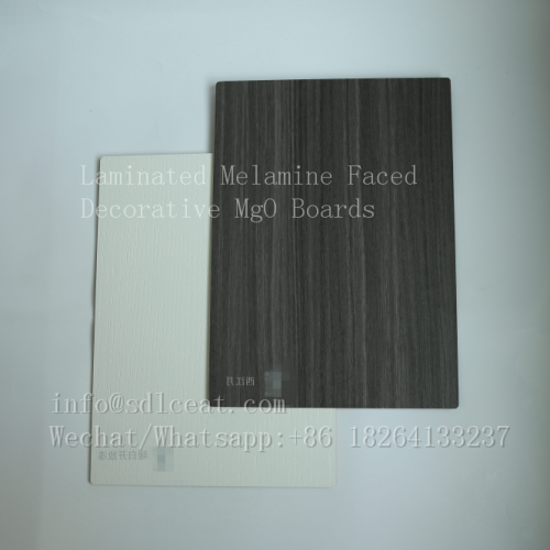 Fireproof melamine decorative flexible interior wall panels
