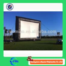 Tela de cinema inflável ao ar livre, exportado para muitos países